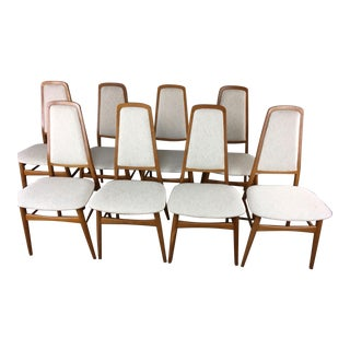 Dyrlund Mid-Century Teak Dining Chairs - Set of 4 Remaining