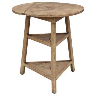 Unique Two-Shelf Cricket Table