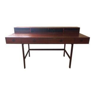 Danish Modern Jens Quistgaard Rosewood Flip Top Desk