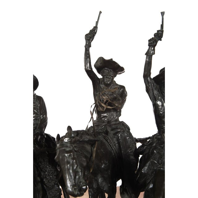 """F. Remington """"Coming Through the Rye"""" Bronze Sculpture - Image 6 of 11"""