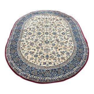 """Traditional Persian Floral Rug - 5'3"""" x 7'5"""""""