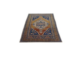 "Anatolian Antique Oushak Rug - 61"" X 102"""