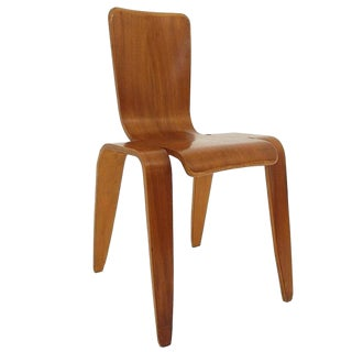 Han Pieck Plywood Bambi Chair Rare and Early Dutch Design, the Netherlands, 1946