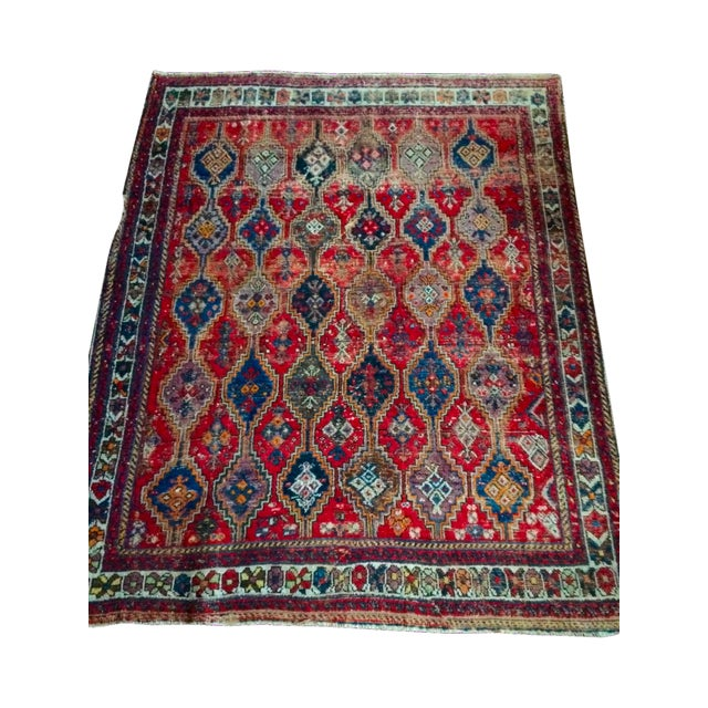Vintage Turkish Rug - 4′11″ × 6′1″ - Image 1 of 9