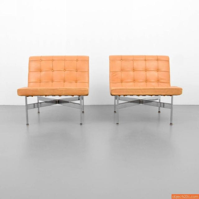 Pair Of William Katavolos, Ross Littell & Douglas Kelley New York Lounge Chairs - Image 4 of 6