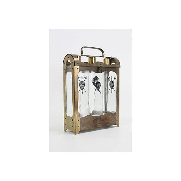 Midcentury Spanish-Style Decanter Caddy - Image 2 of 5