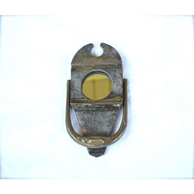 1930s peephole knocker chairish - Peephole door knocker ...