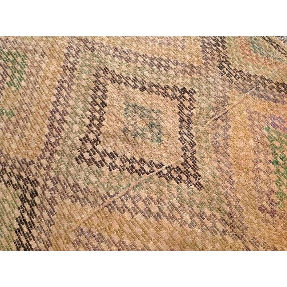 Vintage Turkish Kilim Rug - 5′4″ × 10′4″ - Image 5 of 6