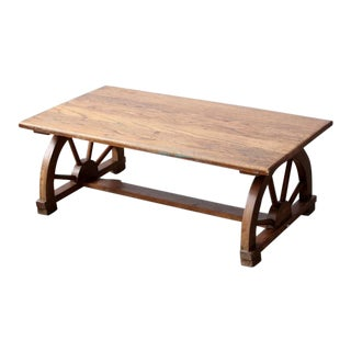 Monterey Style Wagon Wheel Table