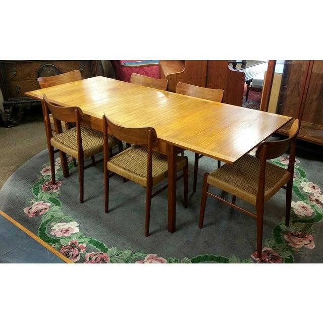 Vintage Danish Mobelfabrik Teak Dining Set - Image 4 of 10