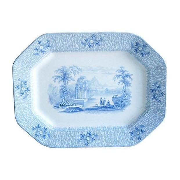 Image of Antique English James Edwards Corinth Platter
