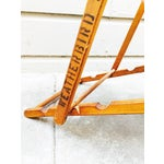 Image of Antique Folding Beach Chair