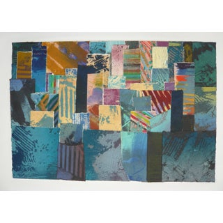 Colorful Collage BFK Paper Print