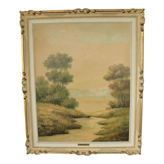 Original Landscape Painting by Giuseppe Martinelli