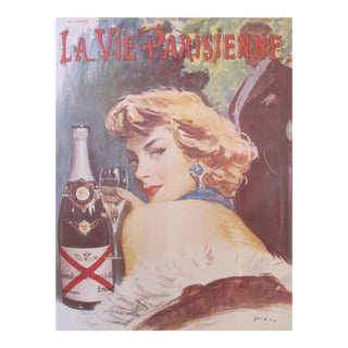 La Vie Parisienne Champagne Poster, Castellane