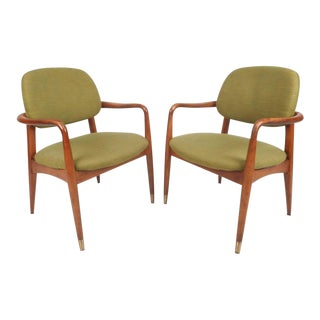 Danish Mid-Century Modern Armchairs - A Pair