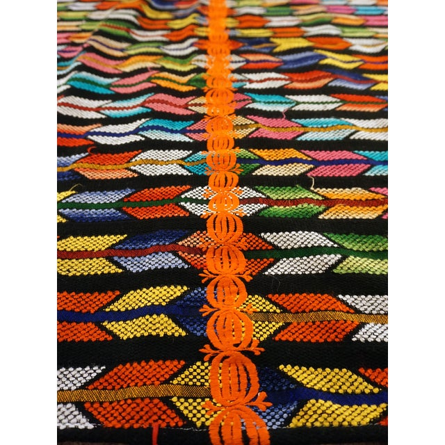 Multicolor Tassel Blanket - Image 2 of 3