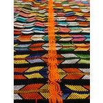 Image of Multicolor Tassel Blanket