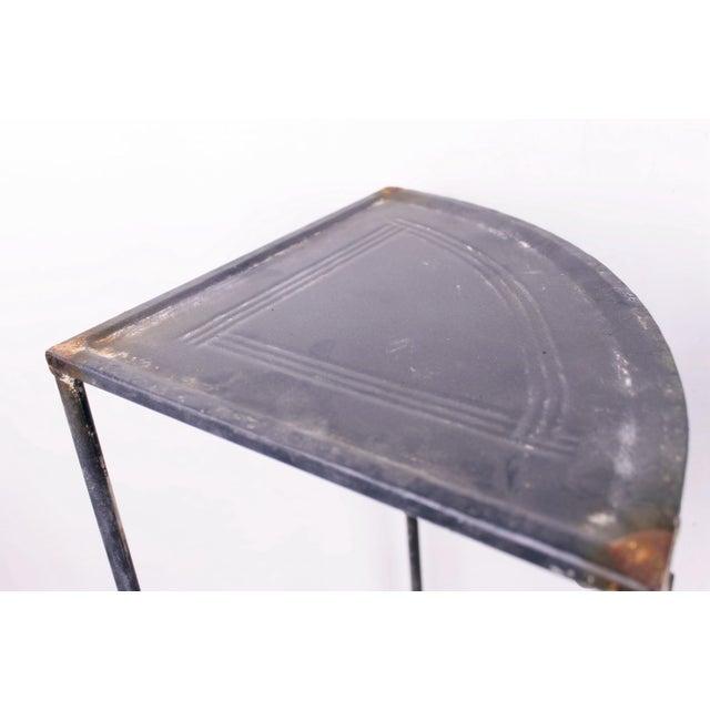 Vintage Metal Side Tables - Set of 2 - Image 3 of 3