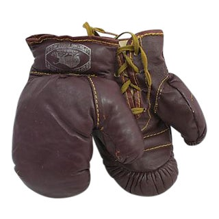 Child's Leather Boxing Gloves - a Pair