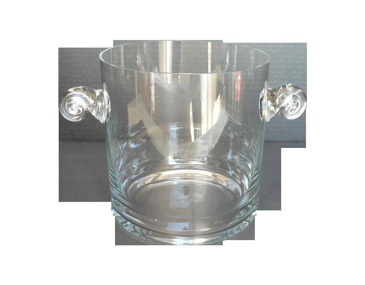 Image of Tiffany & Co. Vintage Crystal Ice Bucket