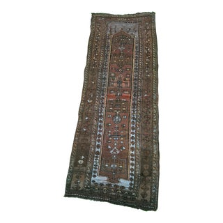 "Vintage Turkish Anatolian Runner - 3'2"" x 8'6"""