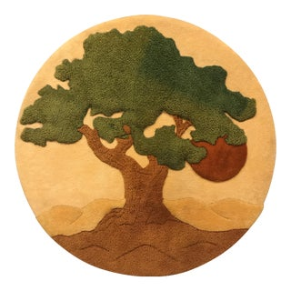 """Vintage """"Tree of Life"""" Wall Hanging"""