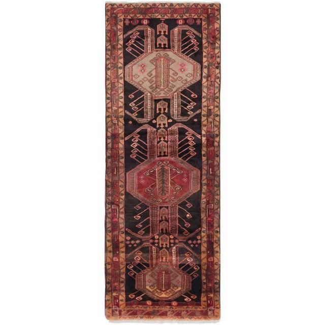 "4'0"" x 10'2"" Ardabil Vintage Persian Rug - Image 1 of 2"