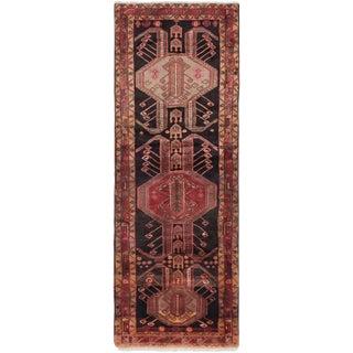 "4'0"" x 10'2"" Ardabil Vintage Persian Rug"