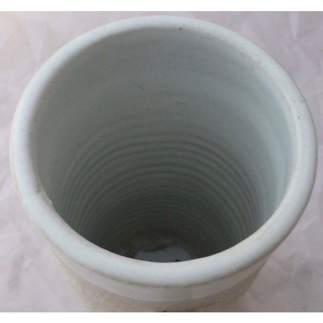 Large Jonathan Adler Architectural Vase - Image 6 of 9
