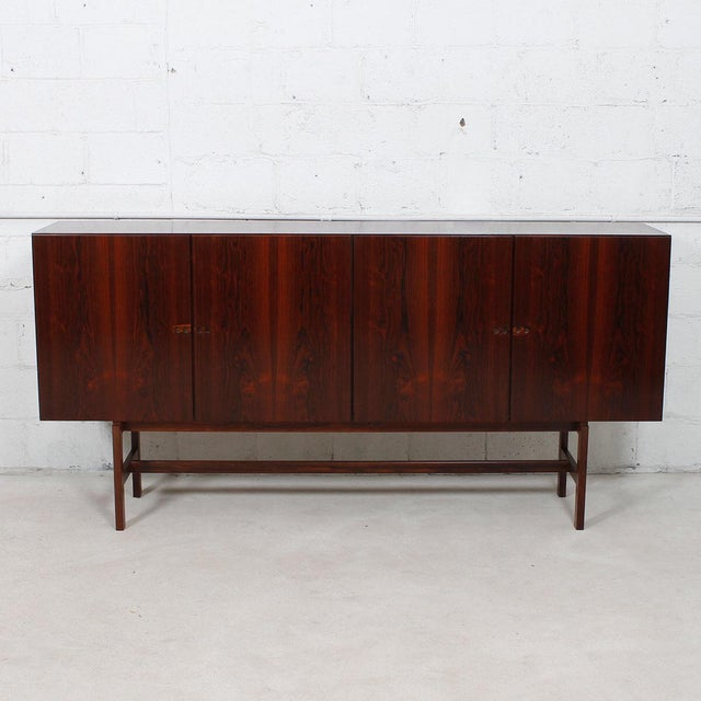 Ib Kofod-Larsen Danish Modern Rosewood Highboard - Image 8 of 10