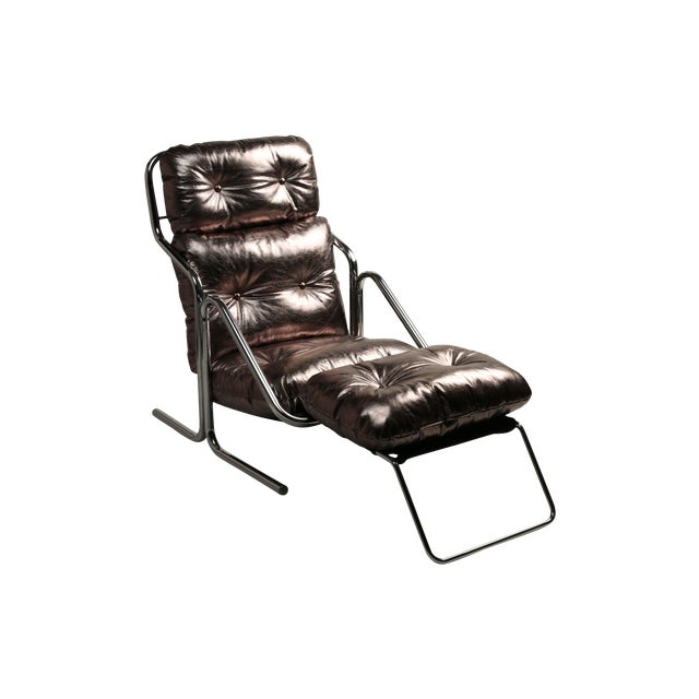 1970s Jerry Johnson Lounger - Image 1 of 4