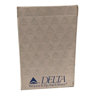 Vintage Delta Airlines Playing Card Set