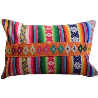 Manta Lumbar Pillow with Ribbon