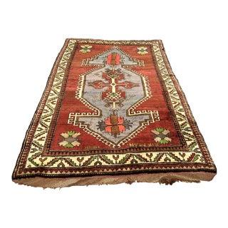 Vintage Anatolian Area Rug - 5′11″ × 9′5″