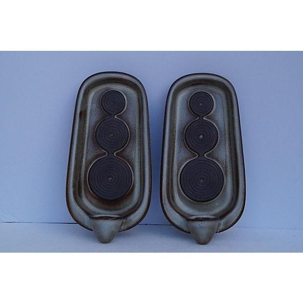 Danish Mid-Century Wall Candle Holders - A Pair - Image 2 of 6