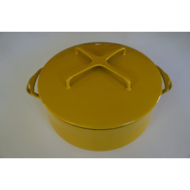 Dansk Kobenstyle Casserole and Copco Cast Iron Pan - Image 4 of 9