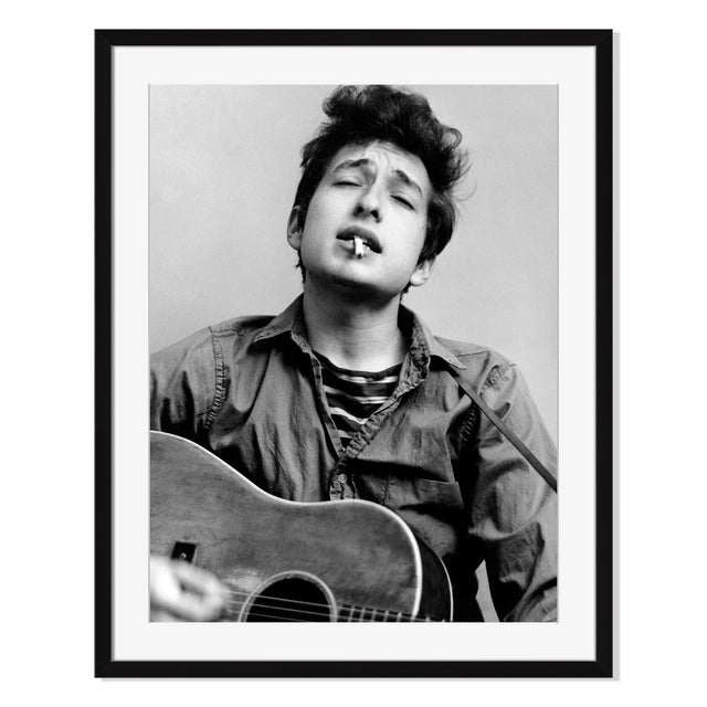 """Bob Dylan Headshot in New York City"" - Image 1 of 2"