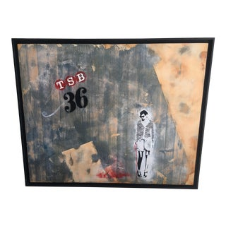 "Danny Zavaleta ""Reparticiones Forzadas"" Painting"