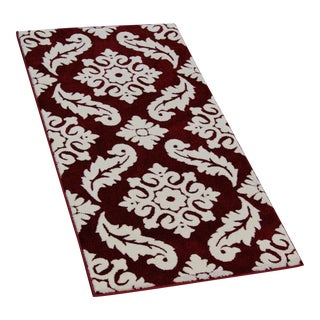 Transitional Trellis Red Rug - 3′ × 5′