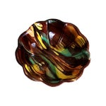 Image of Vintage Glazed Autumn Bowl