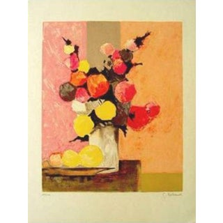 """Gilbert Artaud """"Bouquet Aux Citron"""" Lithograph"""