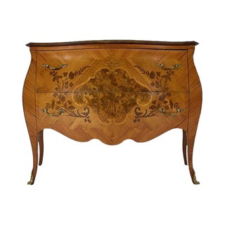 French Traditional Louis XV Commode