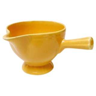 Butter Yellow Fiestaware Creamer
