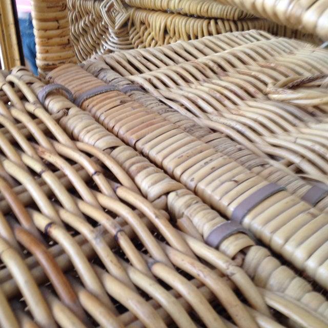 Handmade Wicker Picnic Basket - Image 5 of 5