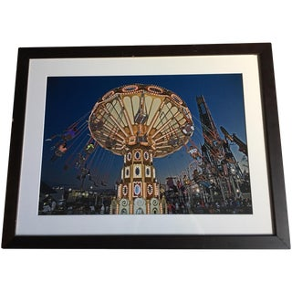 Coney Island Framed Photograph by Neil Lawner