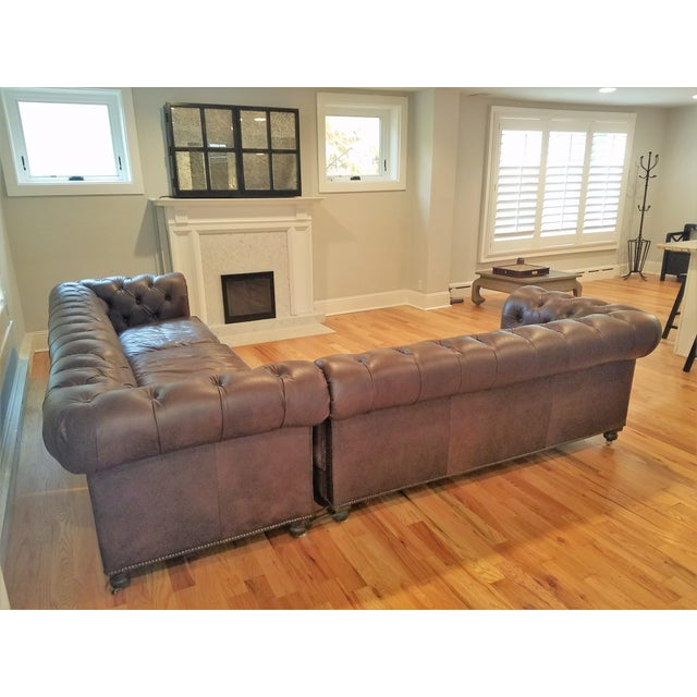 Corner Sofa Bed Sale Ireland: Kensington Leather Corner Sectional