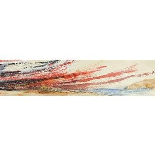 George Turner Seascape at Sunset Painting