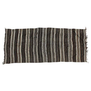 Striped Moroccan Rug - 5′7″ × 13′3″