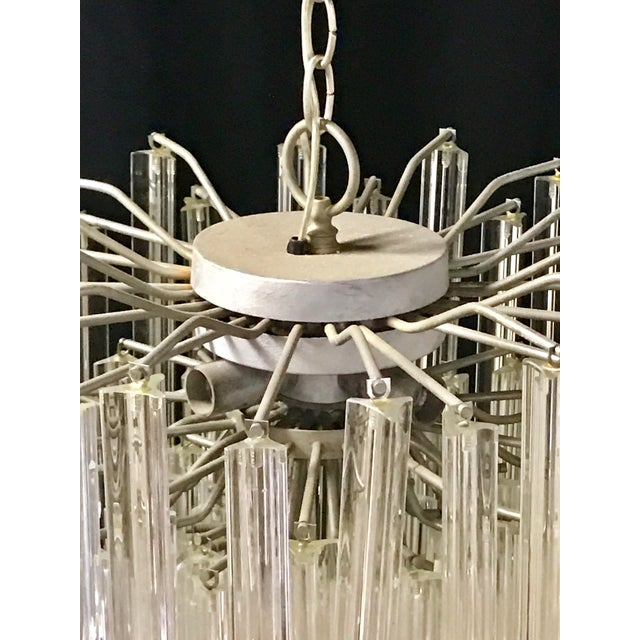 Venini Crystal Chandeliers - A Pair - Image 8 of 11